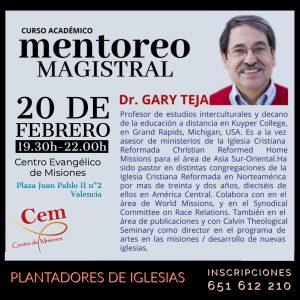 Conferencia Gary Teja