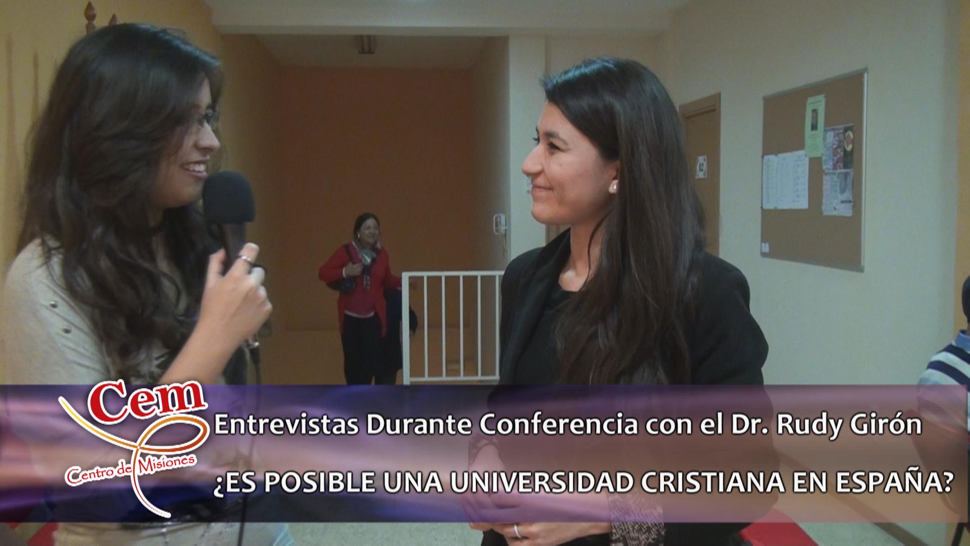 Entrevistas Durante Conferencia Dr. Rudy Girón – Valencia – 2014